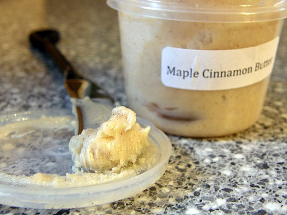 Maple Cinnamon Butter