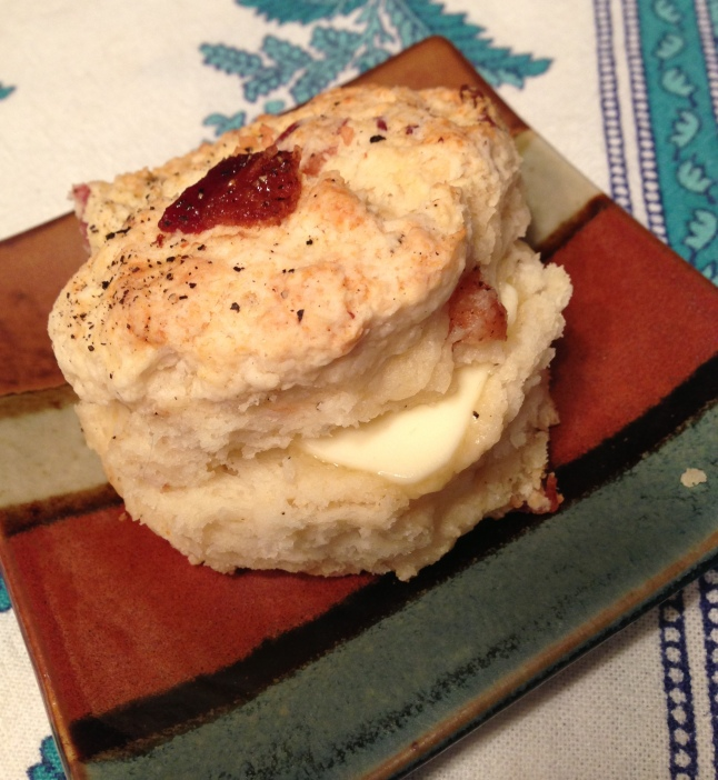 Bacon Brown Sugar Biscuit