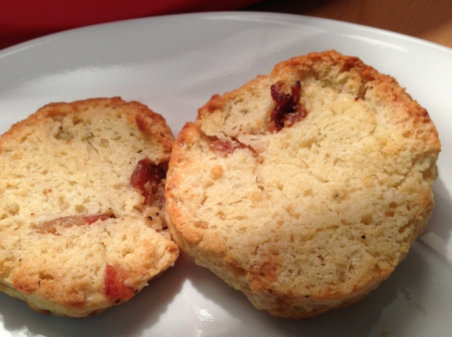 Toasted Bacon Brown Sugar Biscuit