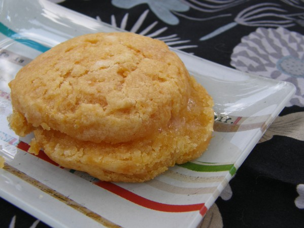 Sweet Potato Biscuit with butter