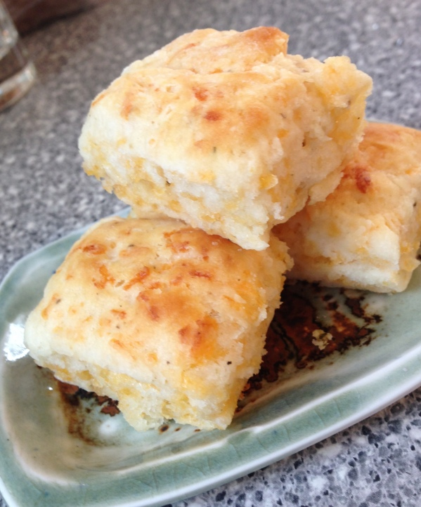Trio of Cheesy Cheddar Biscuits