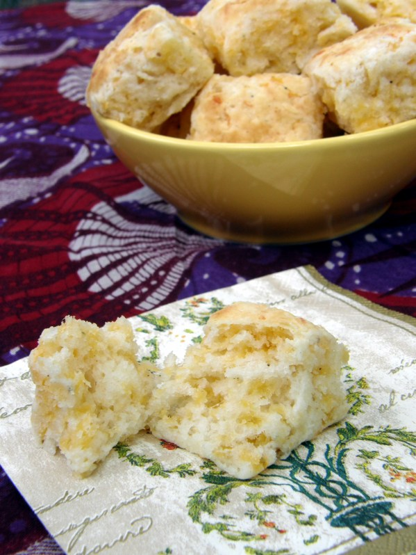Cheesy Cheddar Herb Biscuits