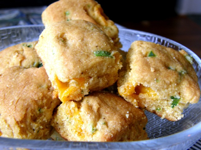 Sweet Corn Jalapeno Cheddar Biscuits