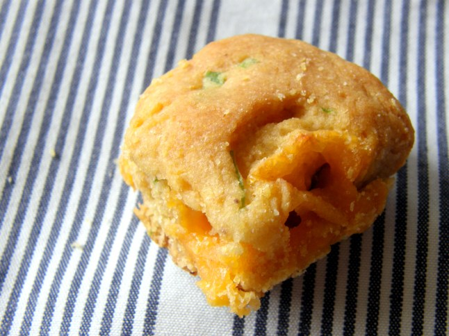 Sweet Corn Jalapeno Cheddar Biscuit
