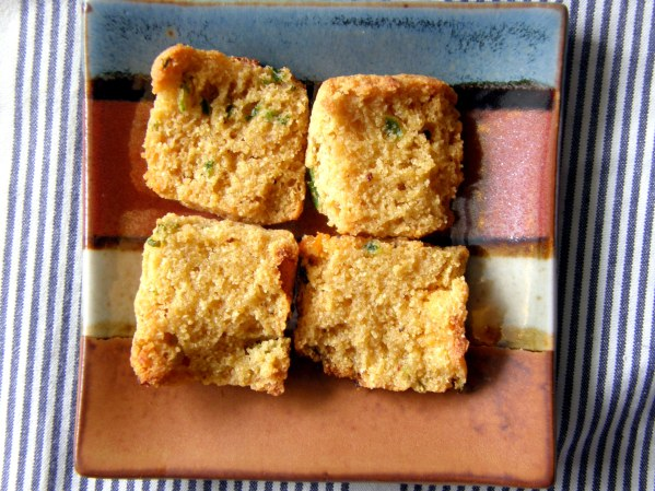 Toasted Sweet Corn Jalapeno Cheddar Biscuits