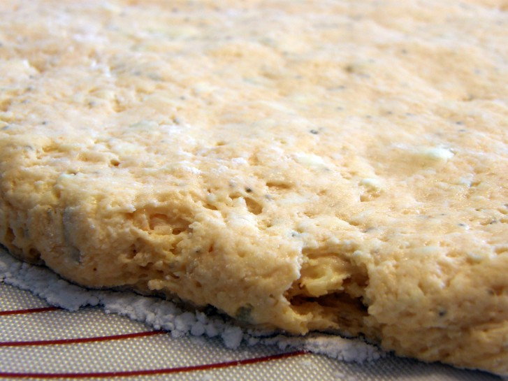 buffalo blue cheese biscuit dough
