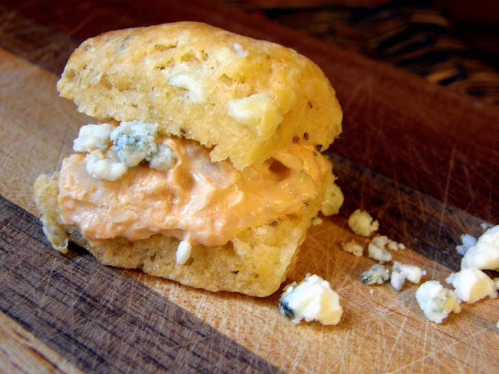 buffalo blue cheese biscuit
