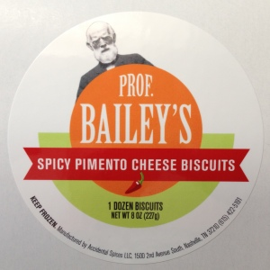 Professor Bailey's Spicy Pimento Cheese Biscuits