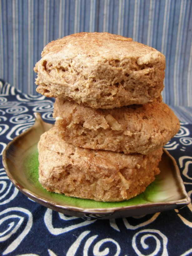 Whole Wheat Apple Cinnamon Biscuits | Persnickety Biscuit