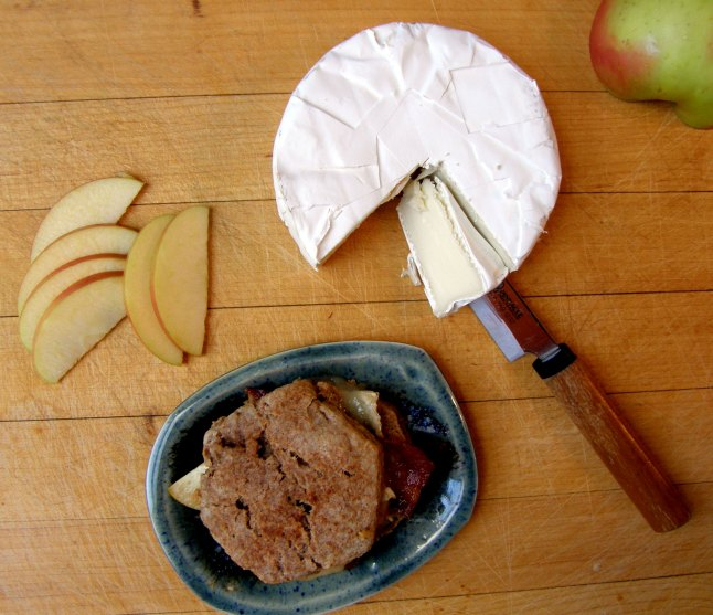 Whole Wheat Apple Cinnamon Bacon Brie Biscuit | Persnickety Biscuit