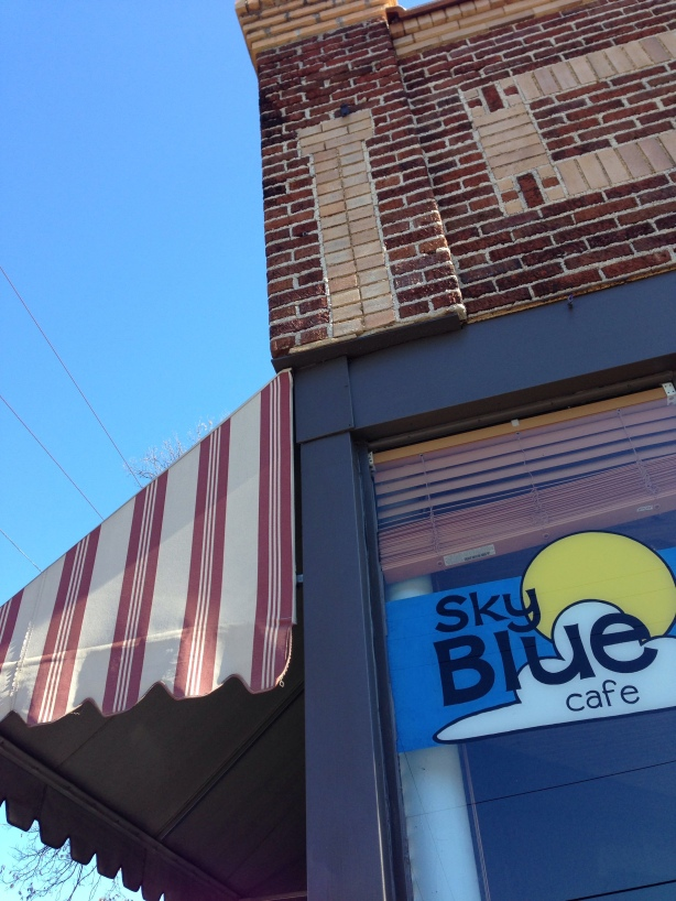 Sky Blue Cafe | Persnickety Biscuit