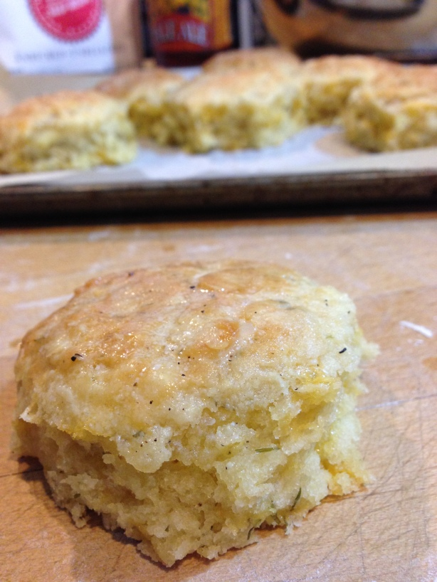 Cheddar Dill Beer Biscuit | Persnickety Biscuit