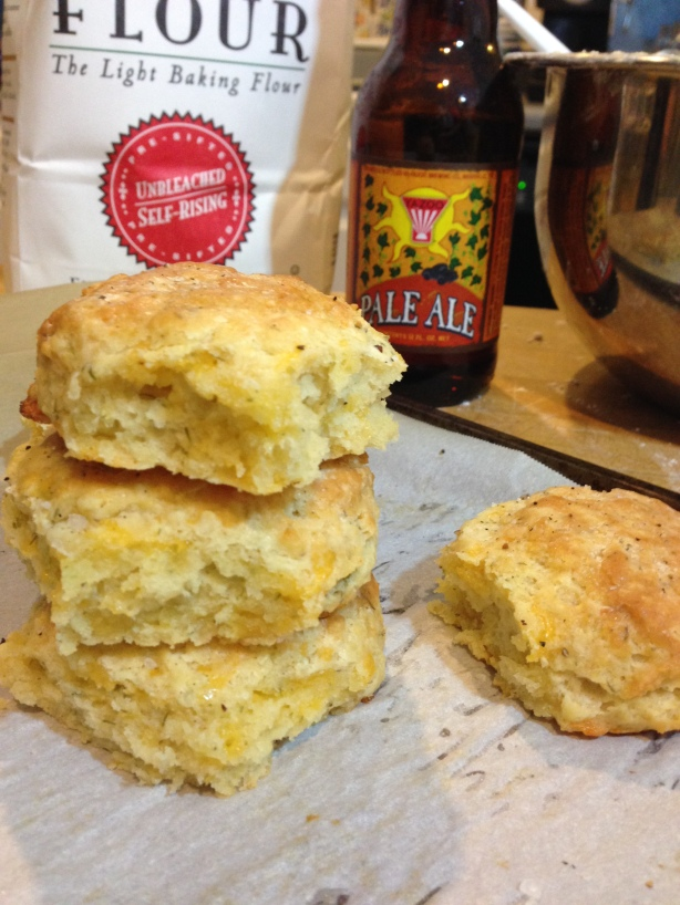 Cheddar Dill Beer Biscuits | Persnickety Biscuit